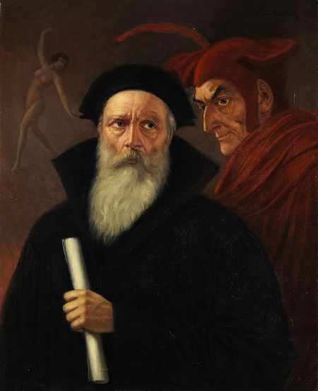 Anton-Kaulbach-Faust-und-Mephisto-Faust-Zusammenfassung